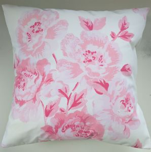 "Cushion Cover in Cath Kidston Peony Blossom Pink 14"" 16"" 18"" 20"""